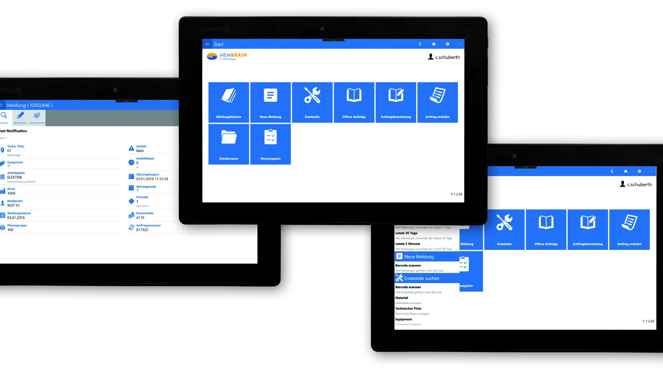 Datendrehscheibe für Business-Apps