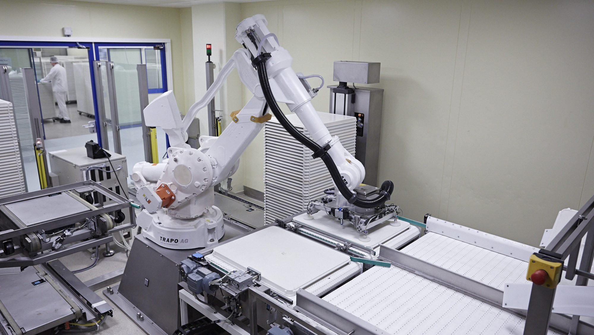 Robotersysteme für den Reinraum