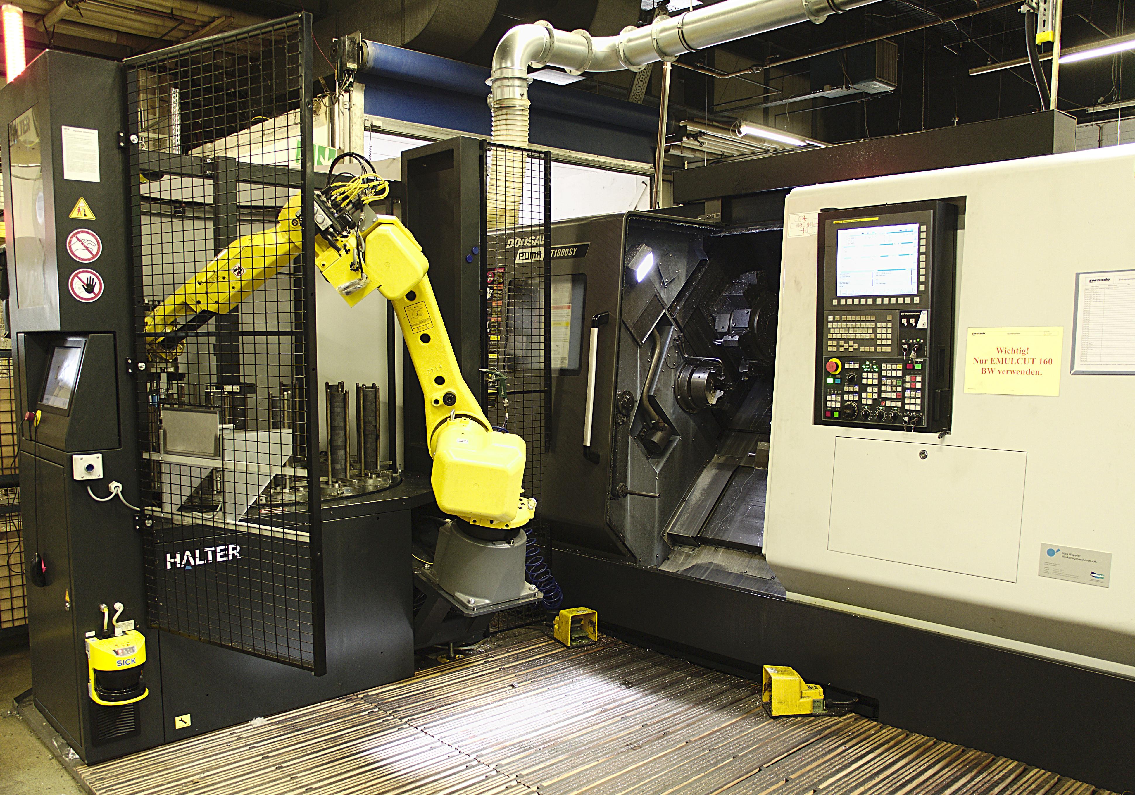 Einfacher Einstieg in die robotergestützte Fertigung