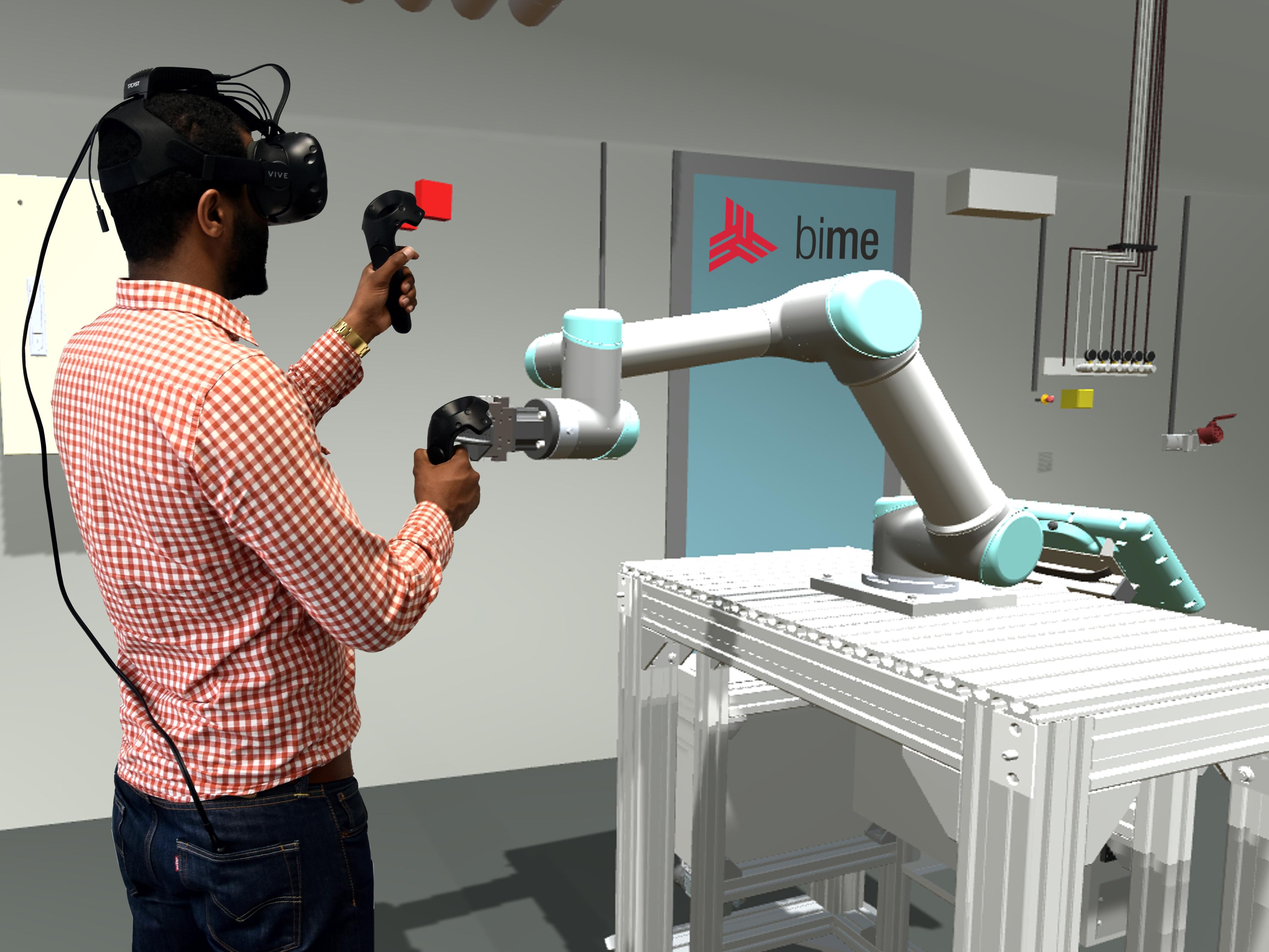 Projekt für Zusammenarbeit von Mensch und Roboter