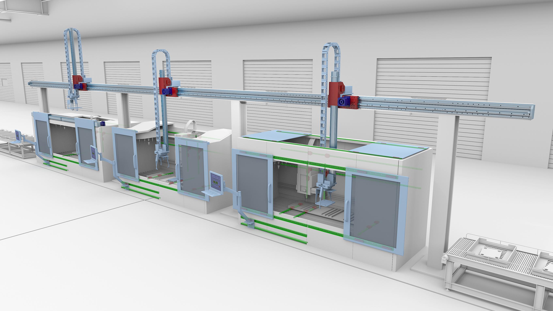 Gantry-Systeme für Mehrachsanwendungen