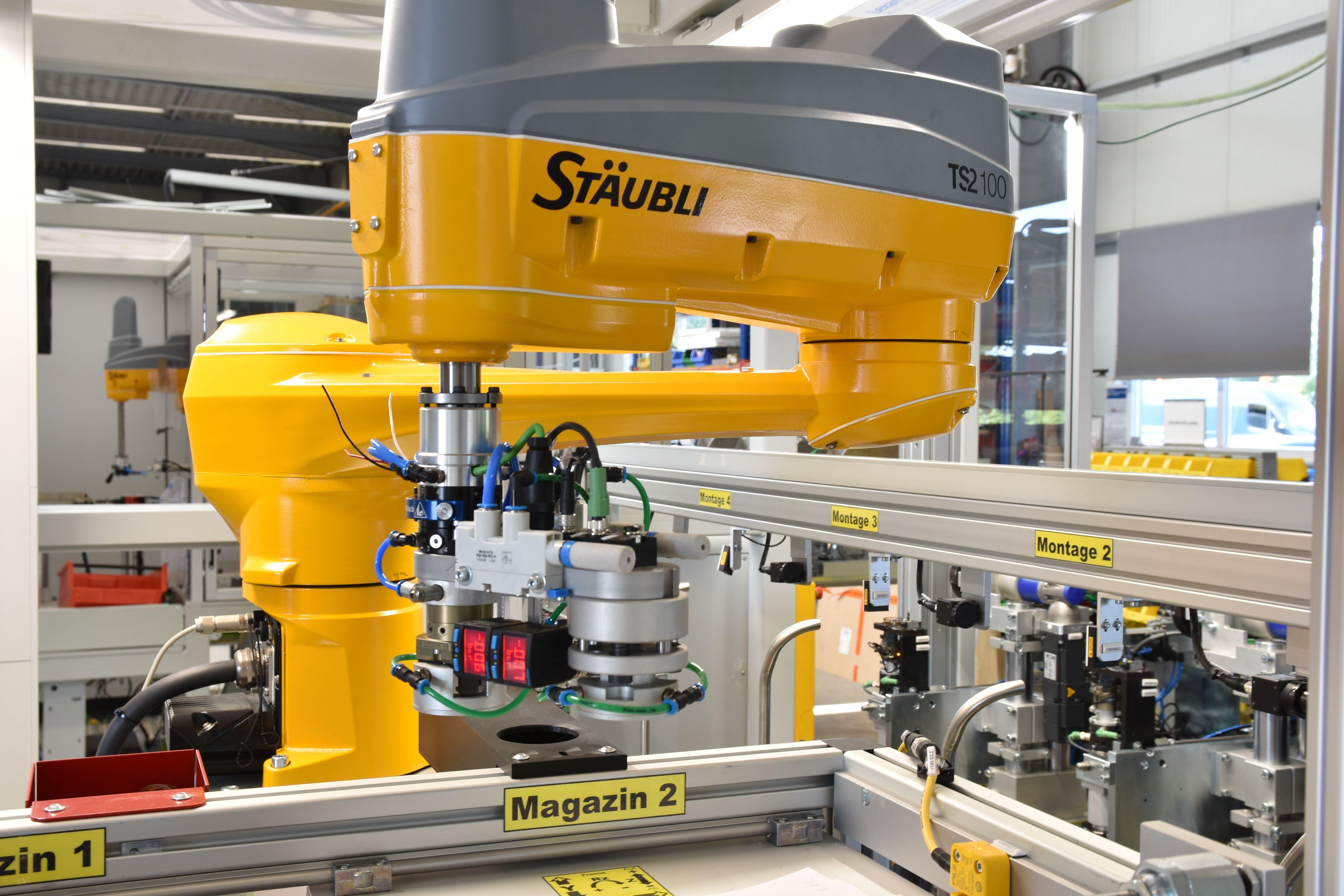 Nahtlose Roboterintegration