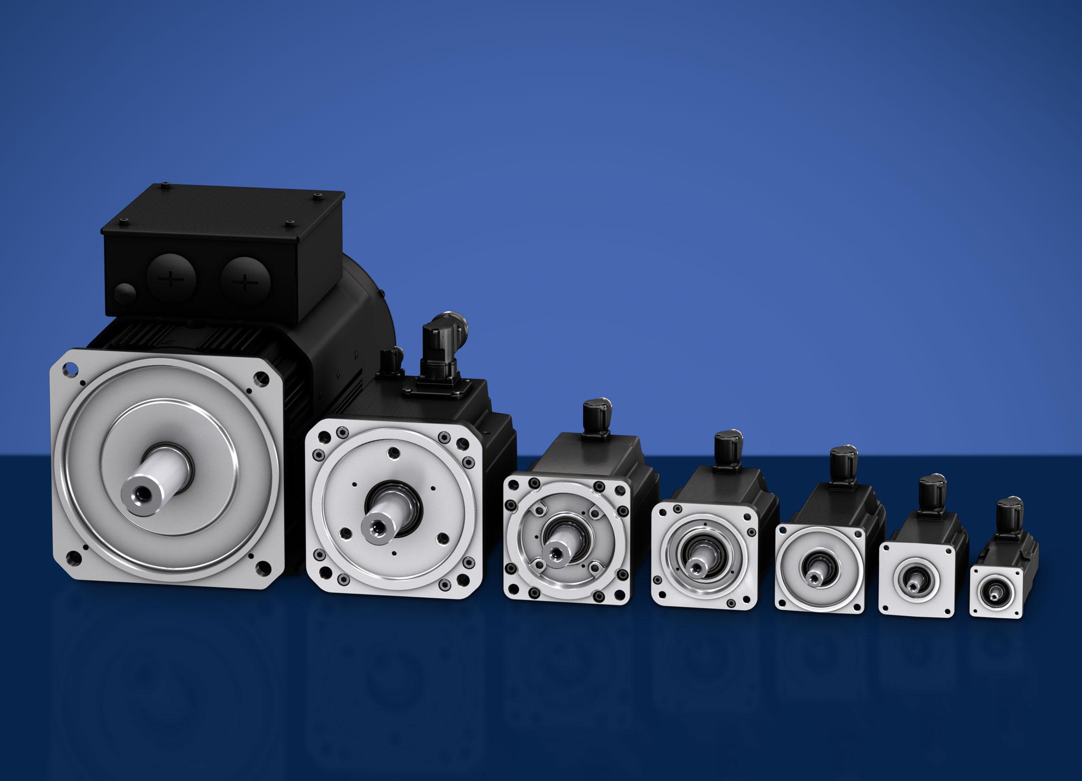Synchronservomotoren mit mehr Drehmoment