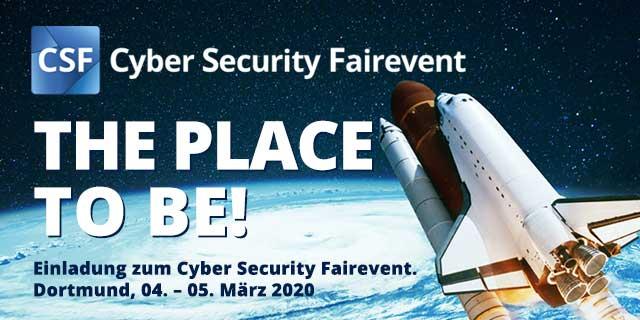 Cybersecurity Fairevent 2020