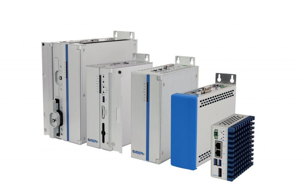 Die lüfterlosen IPCS der BM-Familie decken ein breites Leistungsspektrum ab: vom ARM-Prozessor bis hin zum Core-i Prozessor der neuesten Generation.