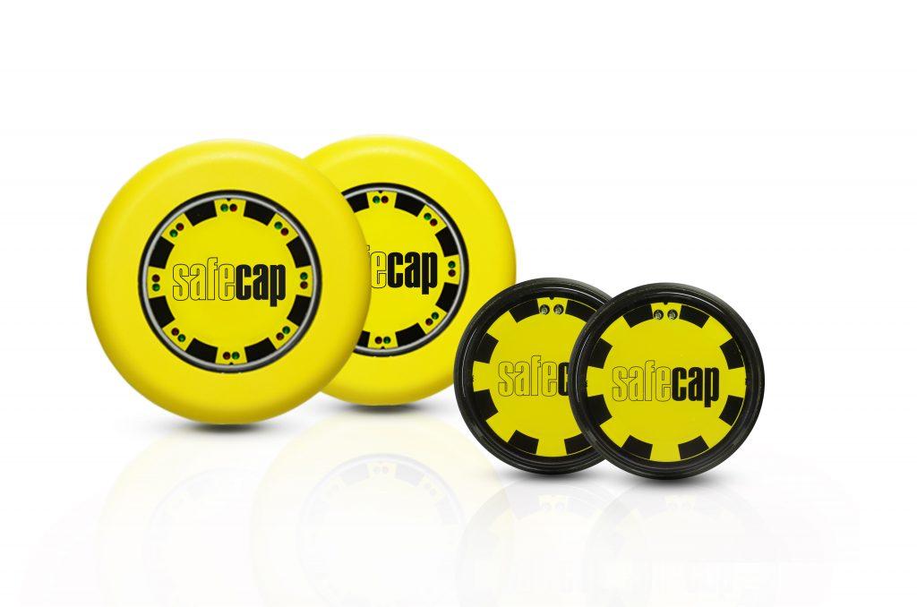 In Verbindung  mit einem Auswertegerät  können die Serien SC3 und SC4 als  Zweihandsteuerung verwendet werden.