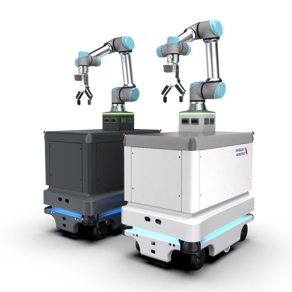 FTS-Plattform für Cobots