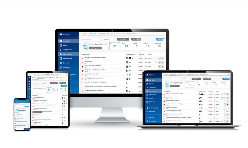 Syskron hat eine multimandantenfähige Plattform entwickelt, die herstellerübergreifend Maschinen miteinander verbinden und klassische MES-Funktionen bereitstellen kann.