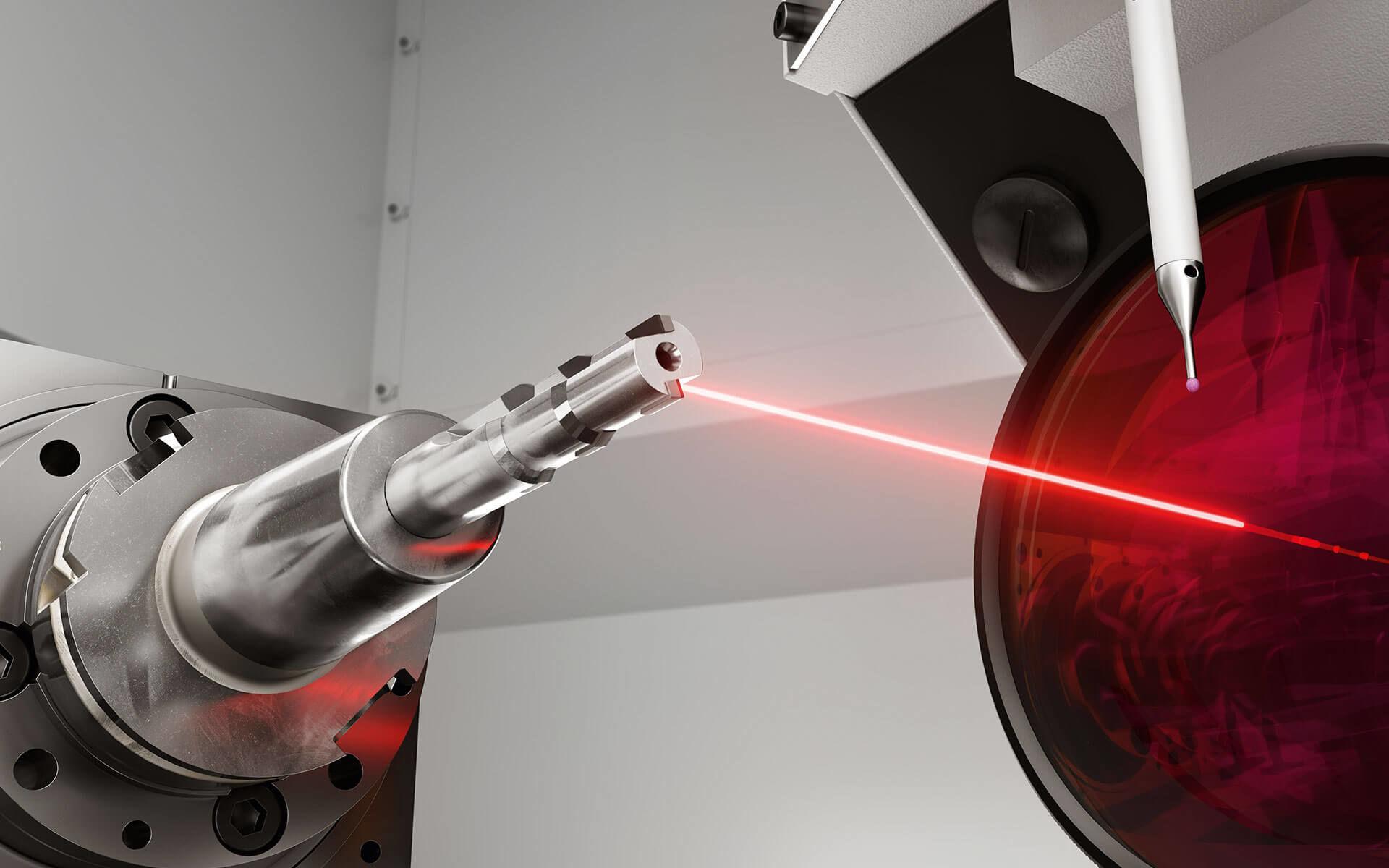 Werkzeuge mit Laserlicht schärfen
