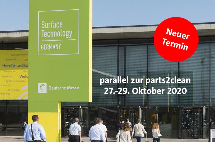 SurfaceTechnology Germany nun im Oktober 2020