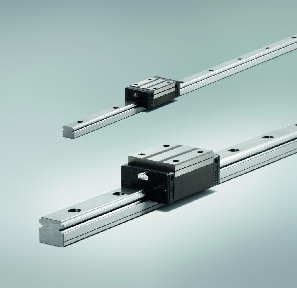 Die neue Schmiereinheit steht im ersten Schritt für Linearführungen der NH/NS-Baureihen zur Verfügung, die auch in Edelstahl gefertigt werden.
