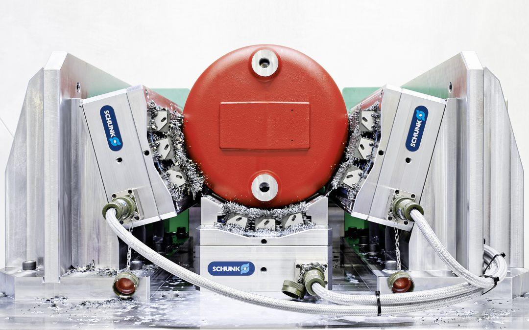 Werkstückspezifische Magnetspannlösung
