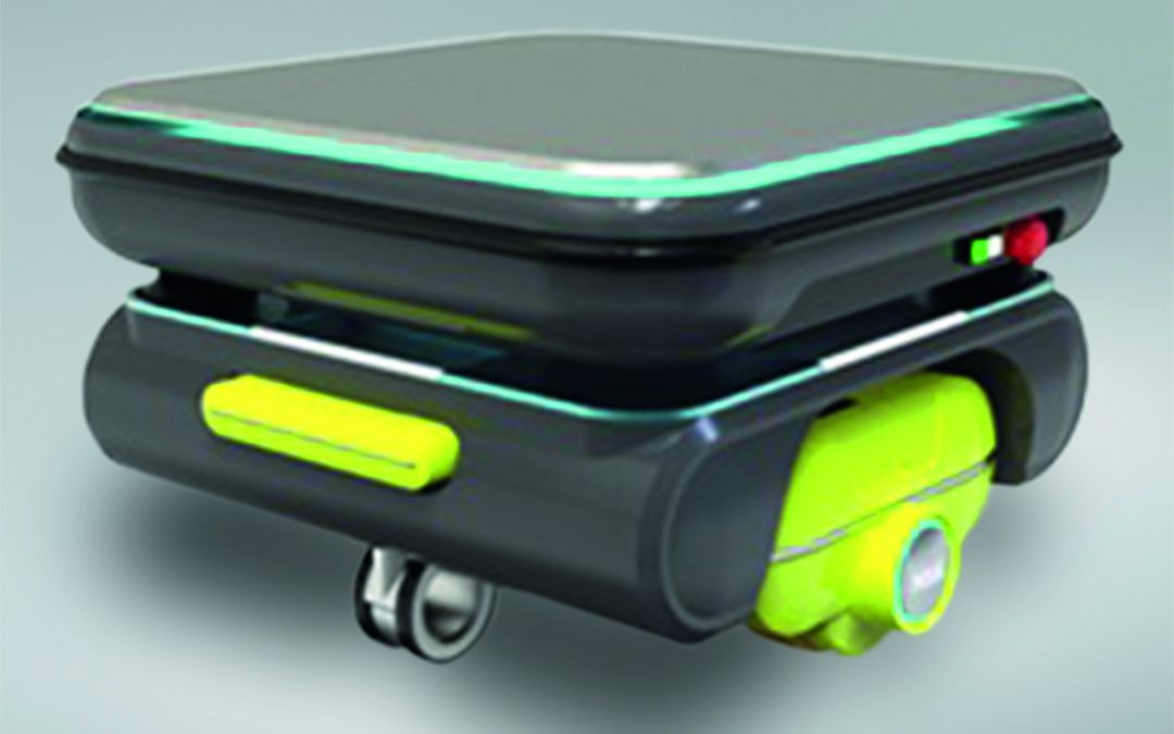 Direktantrieb für mobile Roboter
