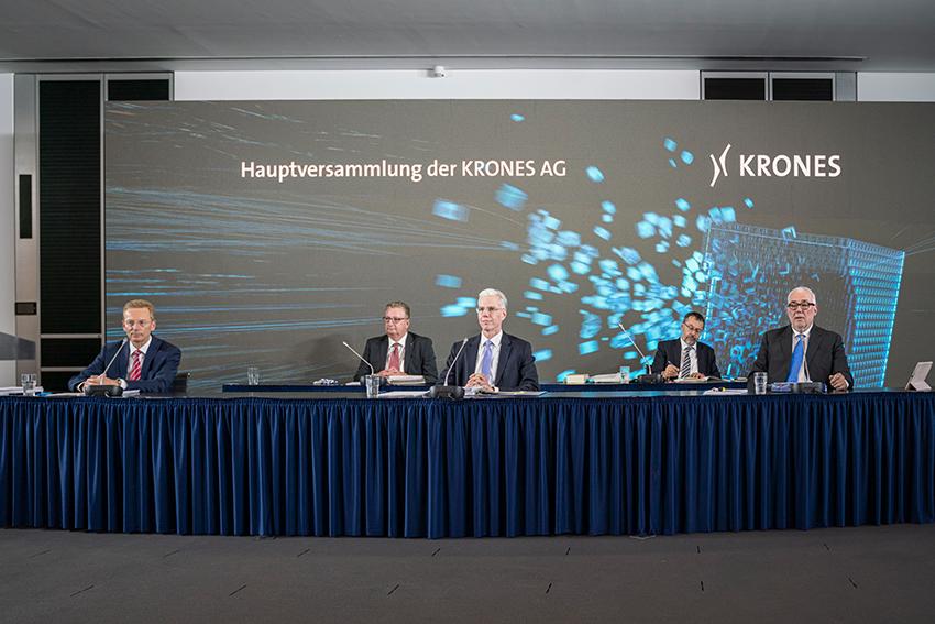 Krones beschließt trotz Corona-Krise Dividende von 0,75€ je Aktie