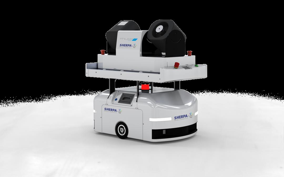 Autonomer Desinfektions-roboter