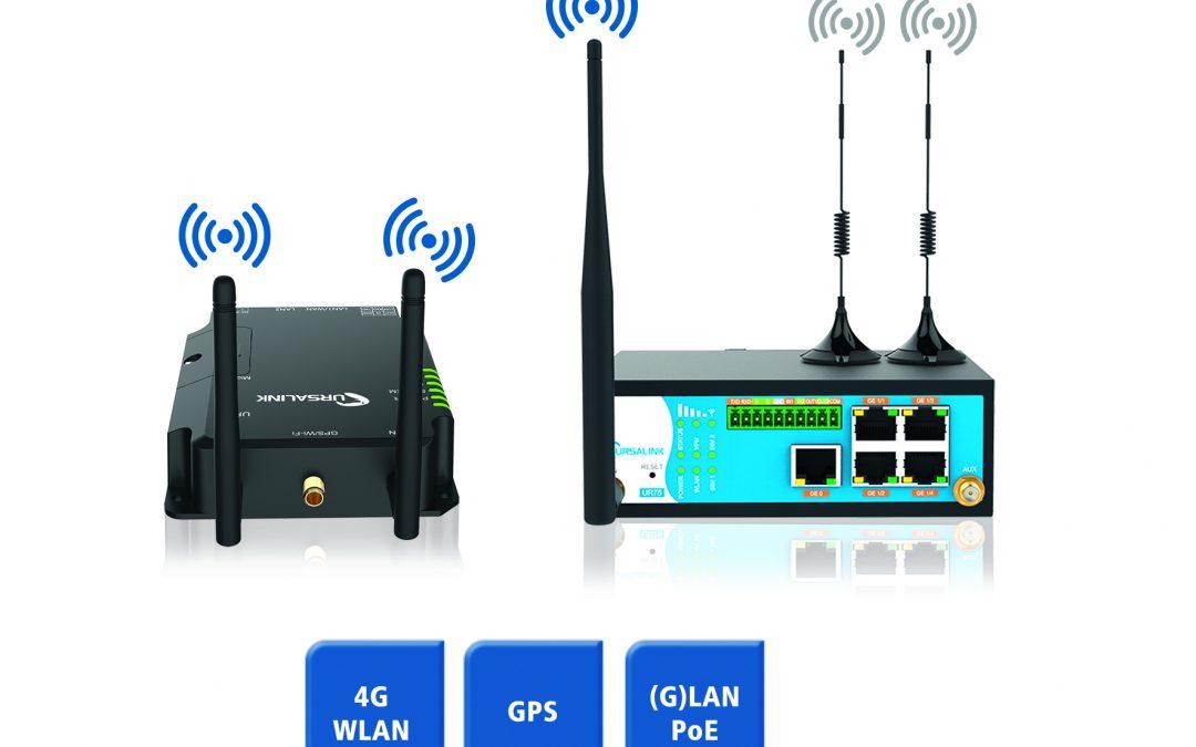 Neue 4G-Mobilfunk-Router im Spectra-Portfolio