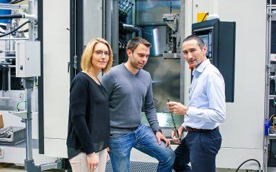 Entwicklungspartnerschaft von Maschinen- und Werkzeughersteller