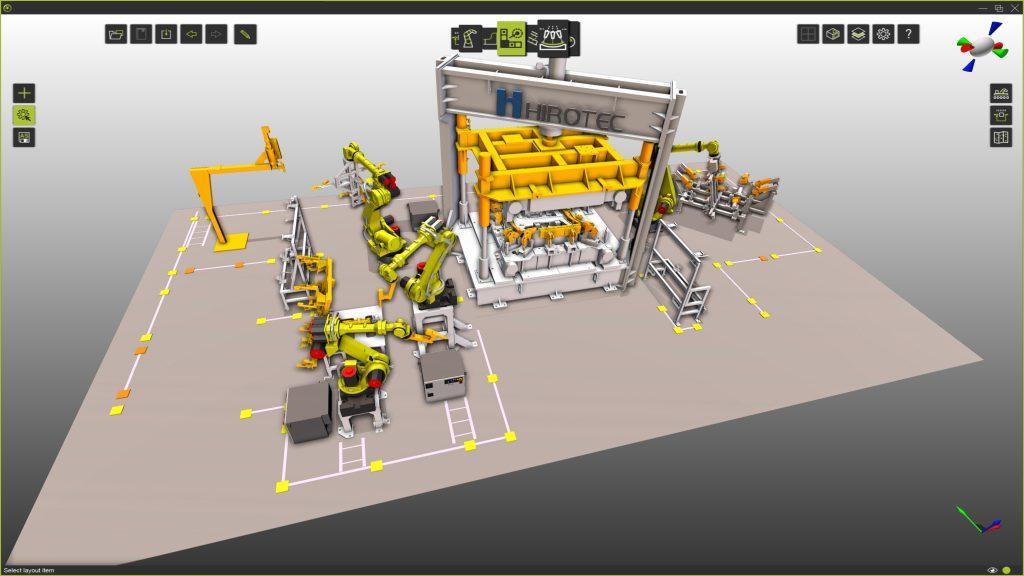 Virtuelle Fertigungstools im Einsatz bei Systemintegratoren von 3D-Layout- und Simulationstools bis hin zu virtueller  Inbetriebnahme