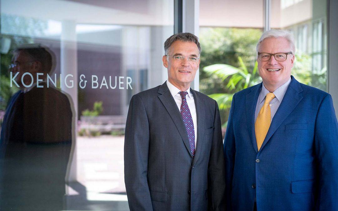 Koenig & Bauer beruft neuen Vorstandssprecher