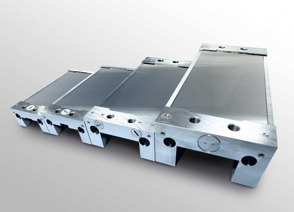 Der große Vorteil der LinClamp ist ihre Flexibilität und einfache Anpassung, beispielsweise bei der Anordnung der Druckluftanschlüsse oder der Anbindung an die Anwendung