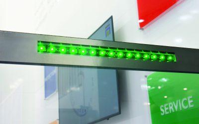 Platzsparende dezente LED-Beleuchtungen