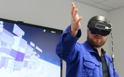 Virtual Reality optimiert Montagelinien