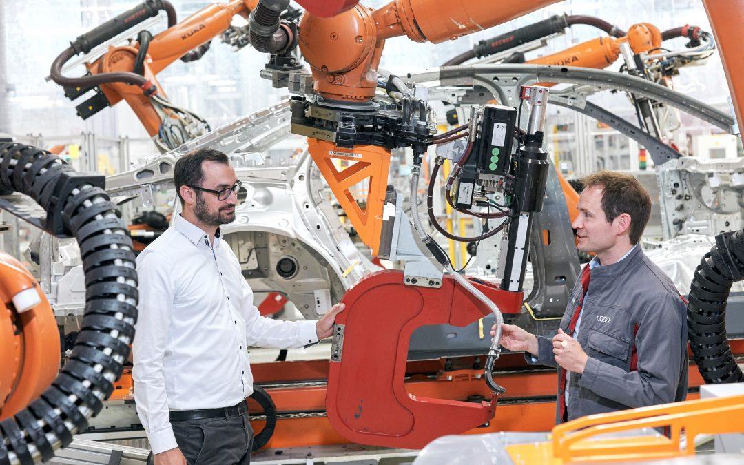 Audi Instandhaltung blickt mit Daten in die Zukunft