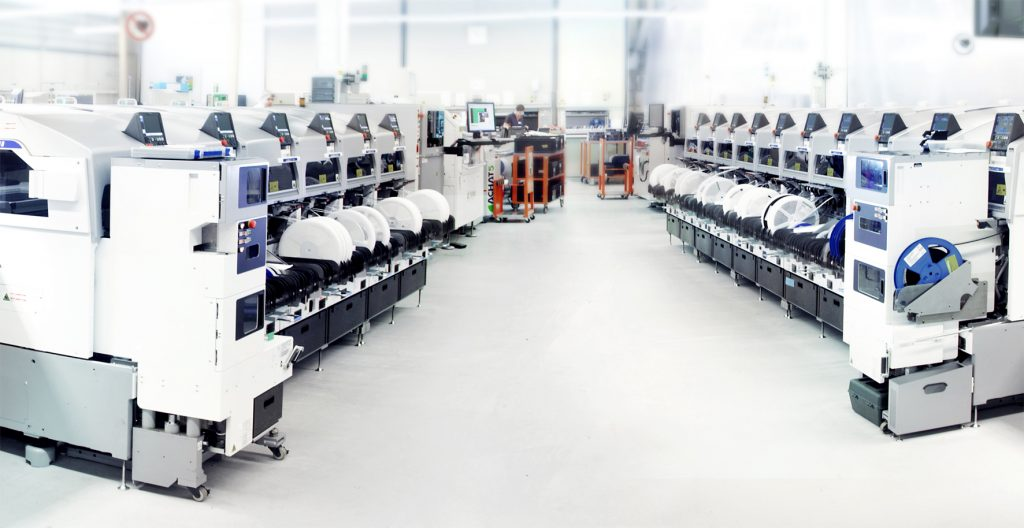 Die Smart Electronic Factory bei Limtronik