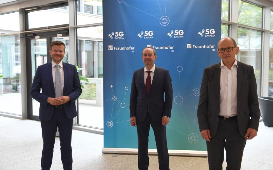 5G-Testzentrum und Testbeds am Fraunhofer IIS eröffnet