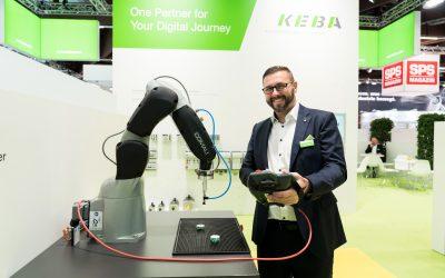 Sichere Interaktion mit Industrieroboter
