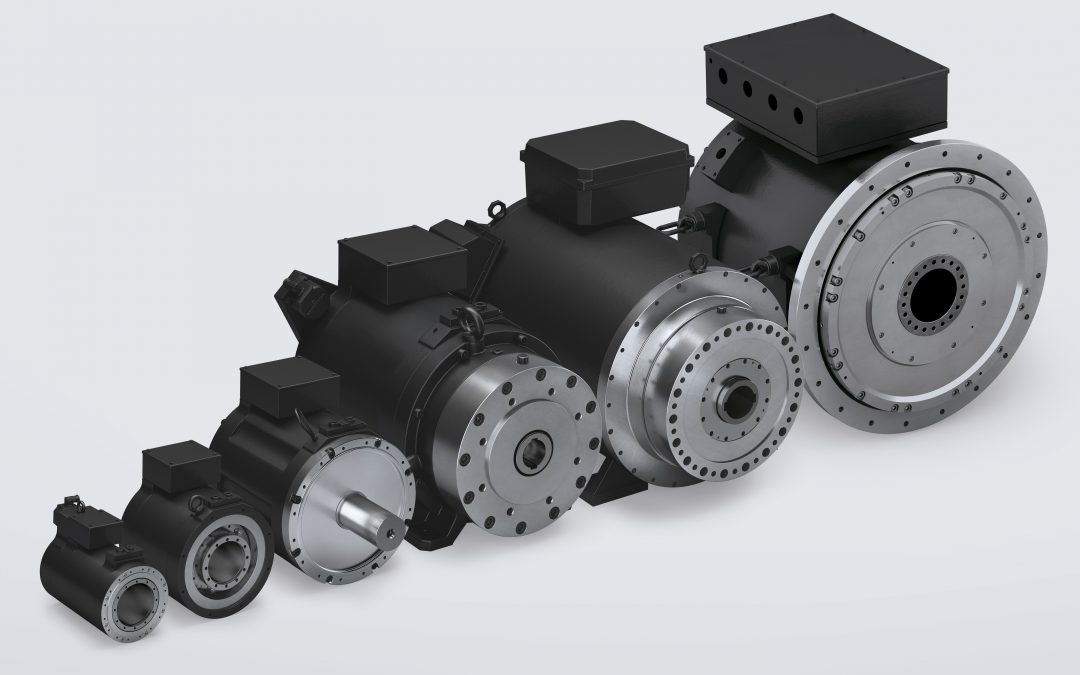 Torquemotoren in flexibel wählbarer Ausführung