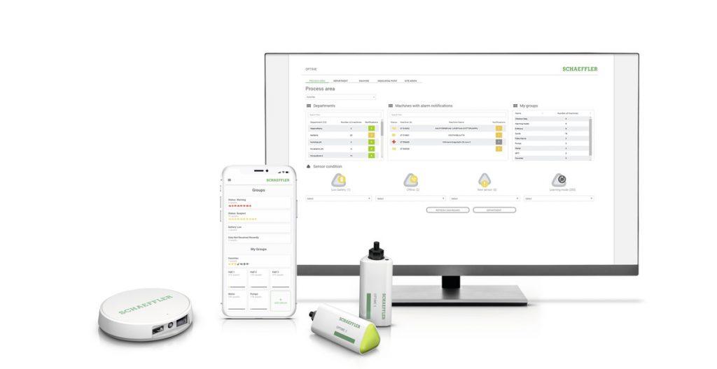Optime verfügt über neueste Technologien wie Machine-Learning-Algorithmen, Analyse in der Cloud sowie Wireless-Mesh.