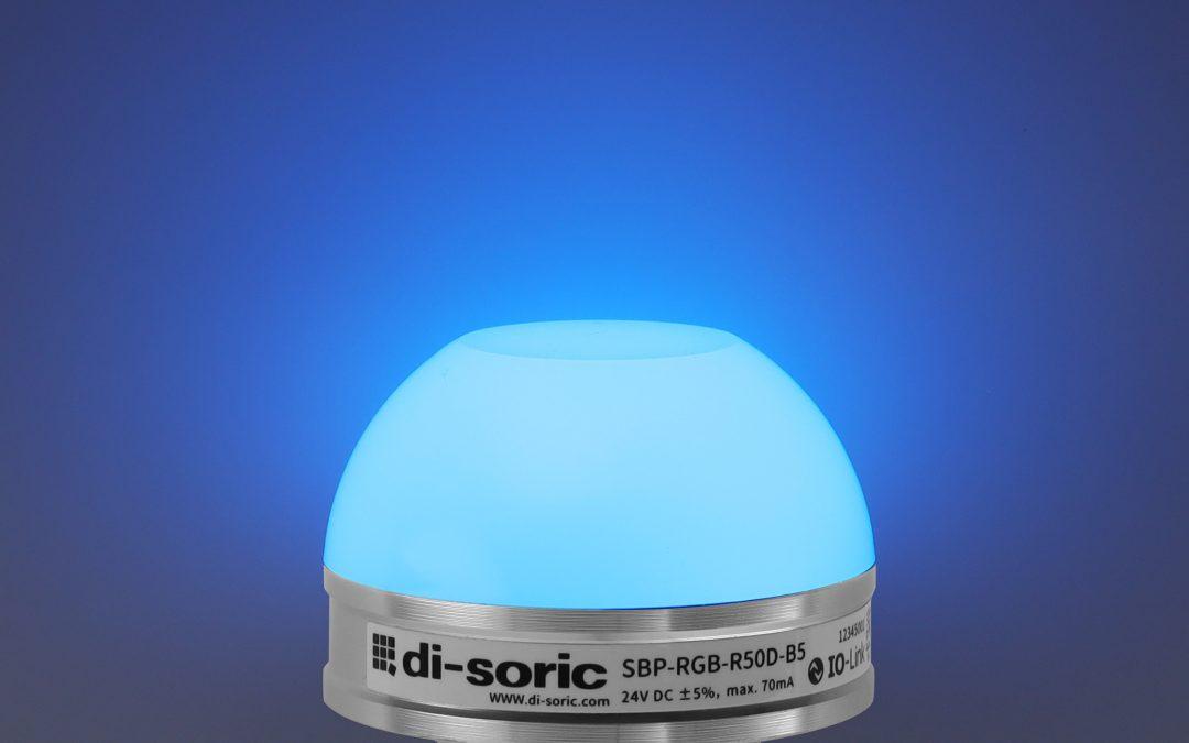 Einfach parametrierbare LED-Signalleuchte