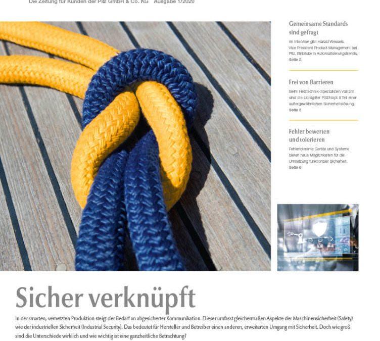Aktuelle Ausgabe 'Mensch und Automation'