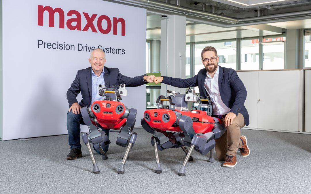 Strategische Partnerschaft von Maxon und Anybotics
