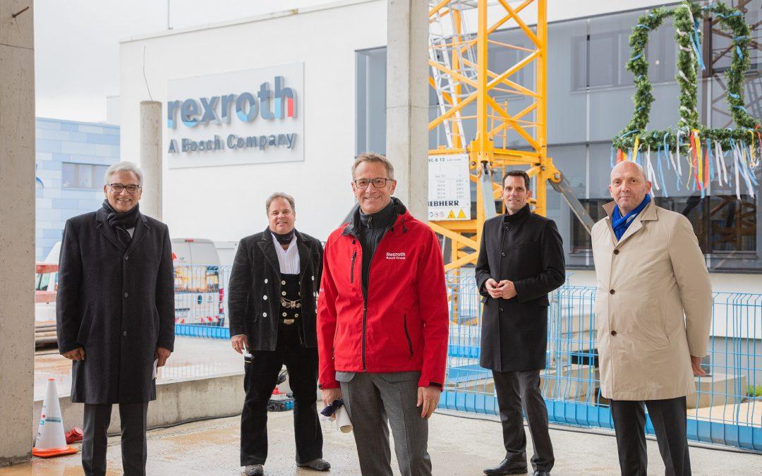 Bosch Rexroth erweitert Kundenzentrum in Ulm