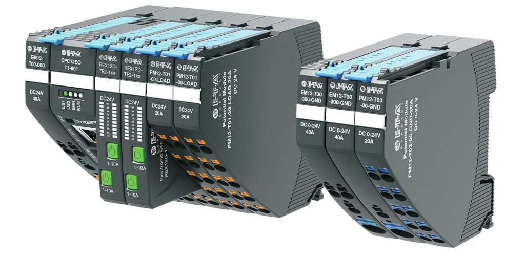 Das kompakte und flexible Rex-System für die umfassende 24VDC-Absicherung und Verteilung