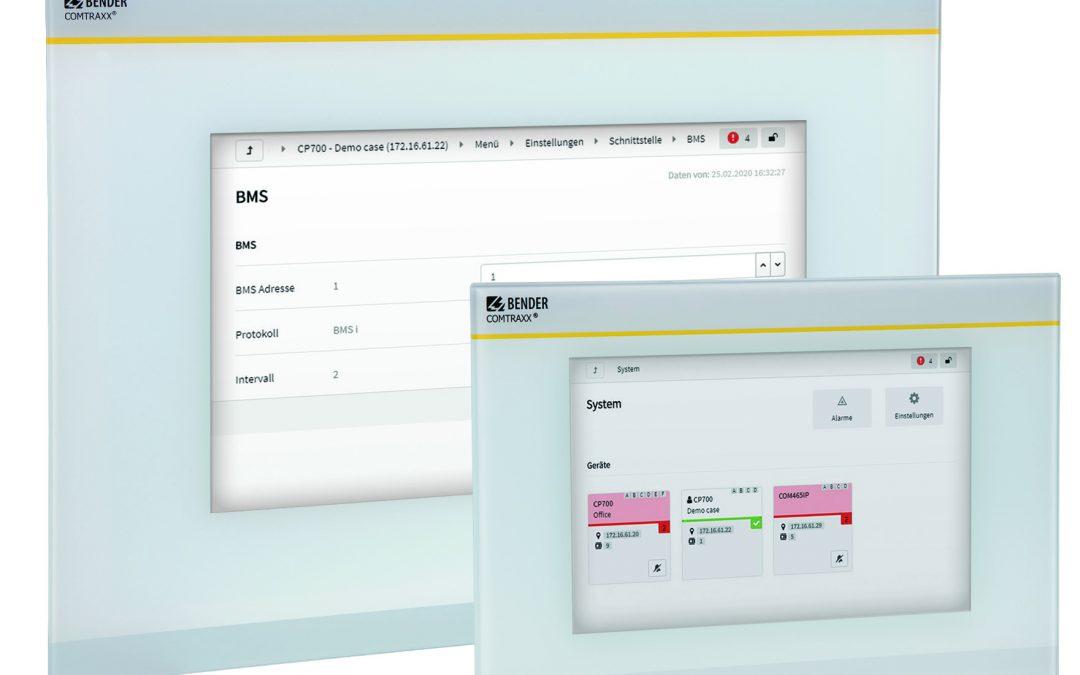 Condition Monitoring mit Display und integriertem Gateway
