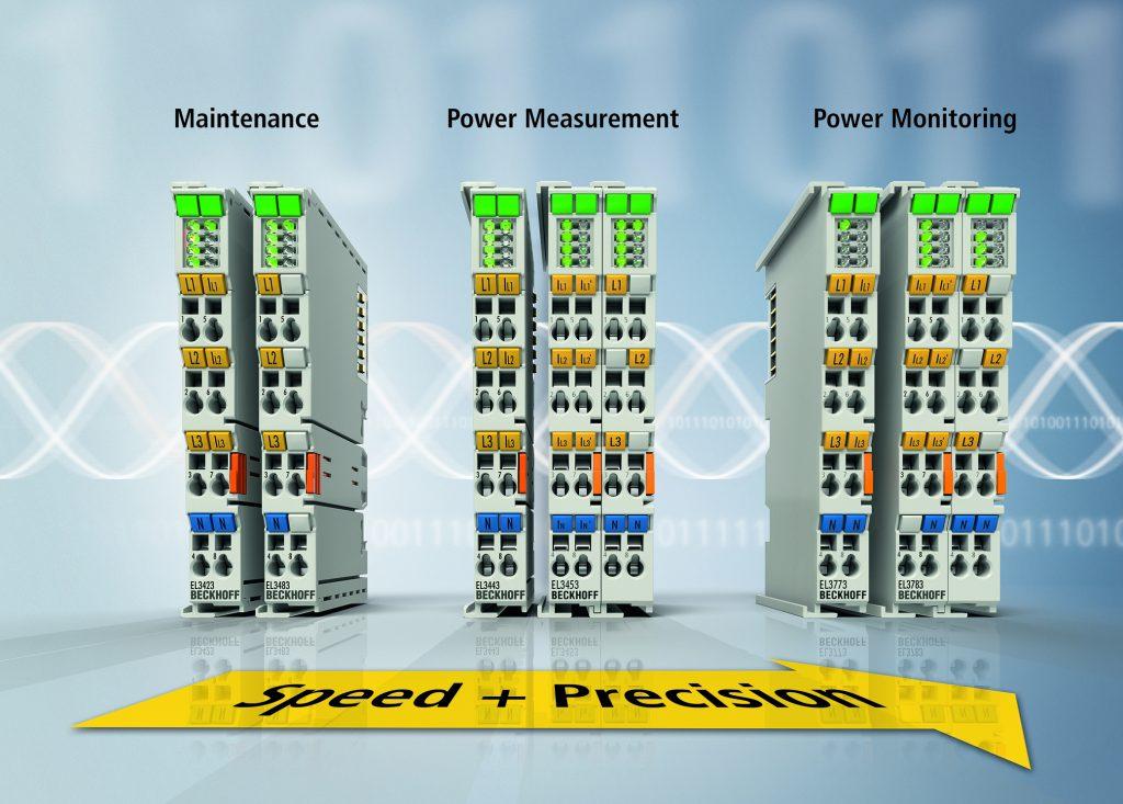 Mit den Ethercat-Klemmen EL34x3 für das Energiemanagement lassen sich die vielfältigen Aufgaben in den Bereichen Power Monitoring, Prozesssteuerung und Netzüberwachung bzw. Instandhaltung optimal skalierbar lösen.