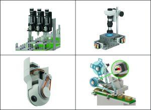 Die Anwendungen der neuen PKP-Schrittmotoren sind vielfältig: Mehrkanal-Pipettierer, Oberflächenstruktur-Analysierer, PTZ-Kameras oder Etikettieraggregate profitieren gleichermaßen von ihren Vorteilen.