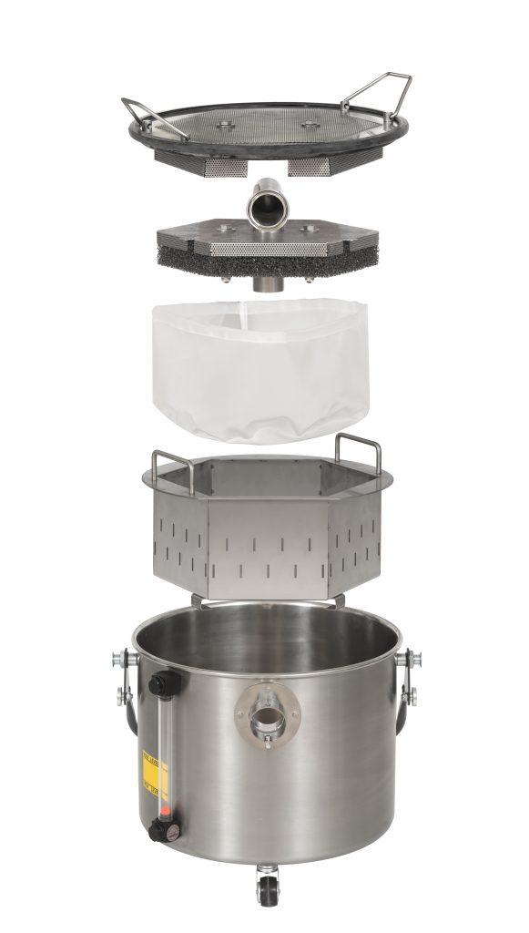 Atex-zertifizierte Industriesauger, die mit einem speziellen Tauchabscheiderbehälter ausgestattet sind, sorgen für sichere Prozesse bei der additiven Fertigung.