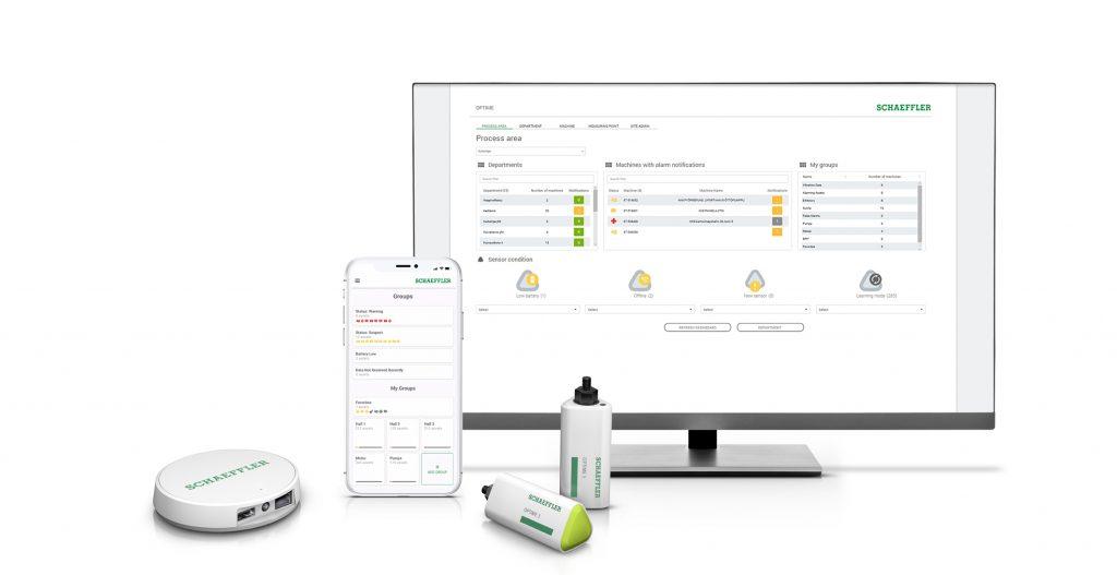 Mit Schaeffler OPTIME kostet Condition Monitoring pro Messpunkt und Tag nur noch wenige Cents.