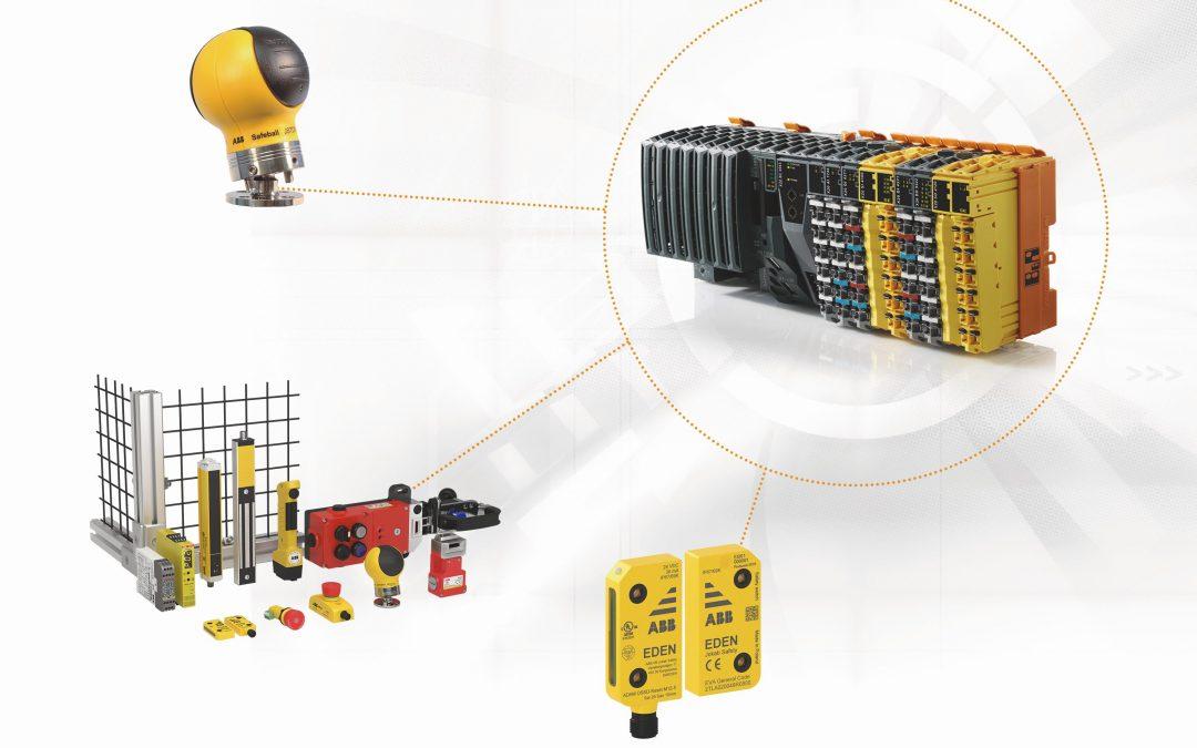 ABB-Sicherheitssensoren für Sicherheitstechnik von B&R