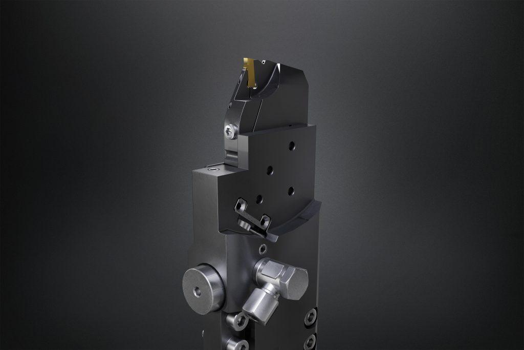 Der Werkzeughalter für Index-Mehrspindelmaschinen gibt dem Anwender Informationen über den Zustand des Werkzeugs während dem Bearbeitungsprozess.
