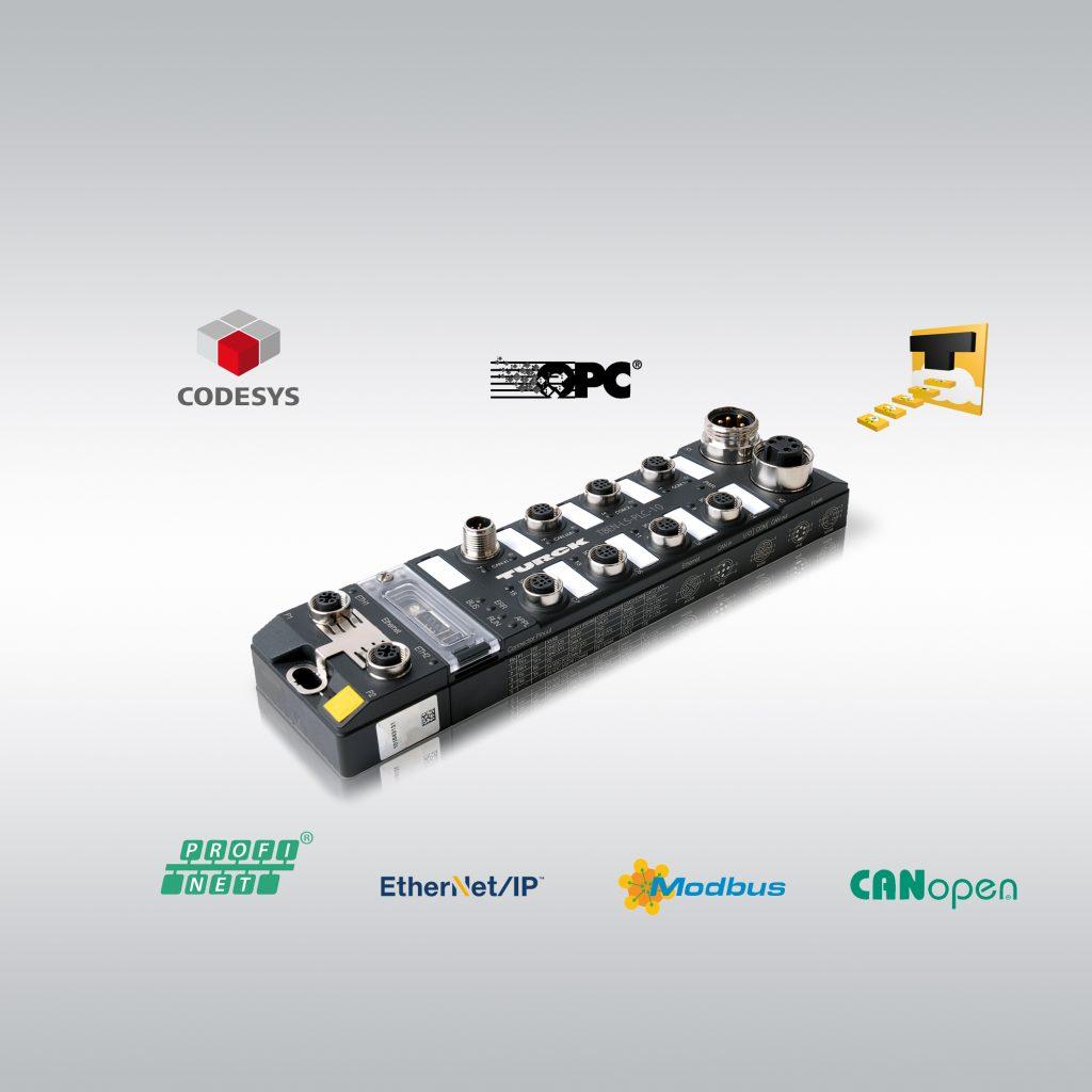 Mit der Cloudanbindung ertüchtigt Turck sein smartes IP67-Modul zu SPS und Edge Controller in einem Gerät und vereinfacht damit modulare Automatisierung und Fernwartung.