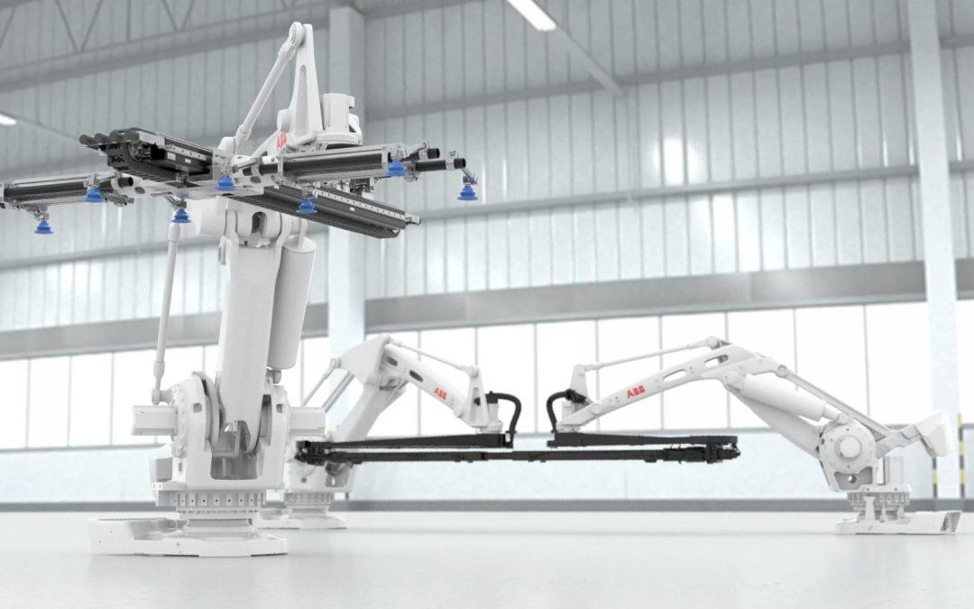 Robotergestützte Lösung für Automobilpressen