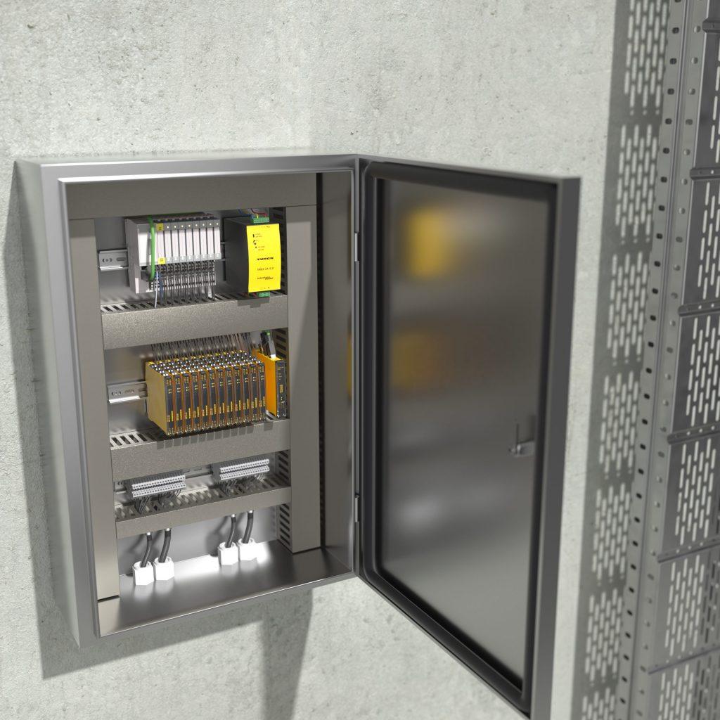Bild 1 | Mithilfe von Zustandsdaten aus dem Schaltschrank können Anwender einem Geräteausfall zuvorkommen und so die Verfügbarkeit ihrer Anlage erhöhen.