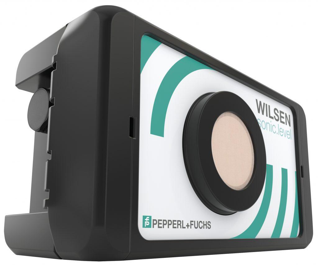 Wilsen.sonic.level  ist ein  batteriebetriebener Füllstandsensor, der mit Hilfe eines integrierten Ultraschallmoduls die Distanz zum Füllgut misst und daraus den Füllstand des Containers kalkuliert.
