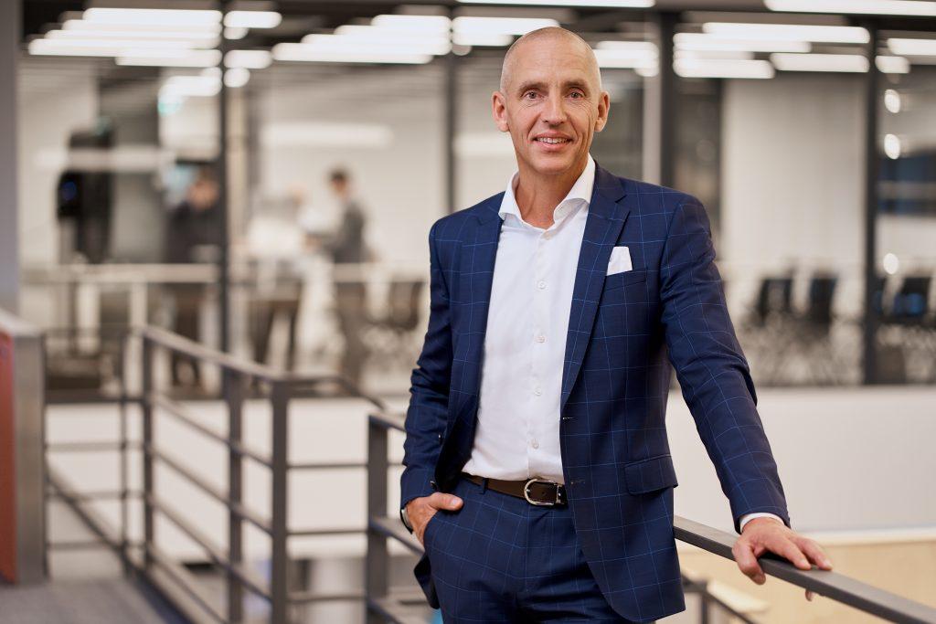 Steffen Winkler, Vertriebsleitung der Business Unit Automation & Electrification Solutions bei Bosch Rexroth