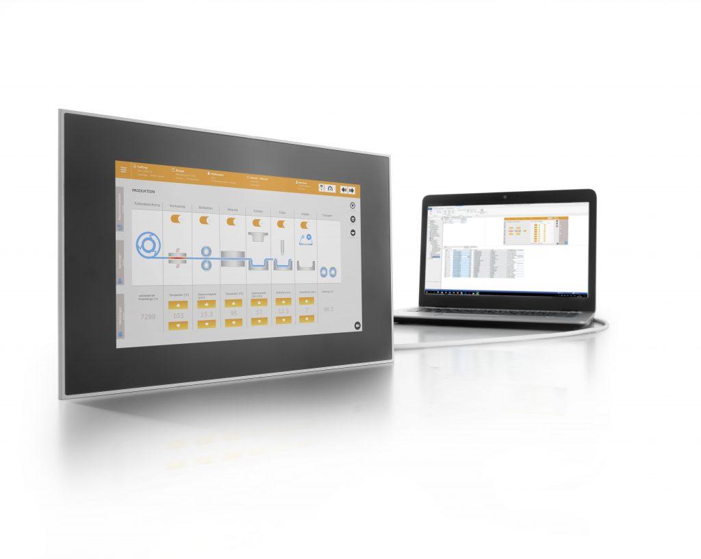 Procon-Web verbindet die Offenheit und Leistungsfähigkeit von Web-Anwendungen mit der Projektierbarkeit klassischer HMIs.
